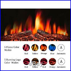 R. W. FLAME 32 Electric Fireplace Insert, Timer 1500W