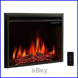 R. W. FLAME 36 Electric Fireplace Insert, Freestanding & Recessed Electric Stov