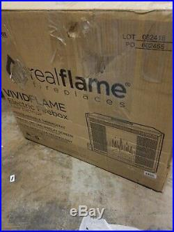Real Flame Electric Firebox Fireplace Insert