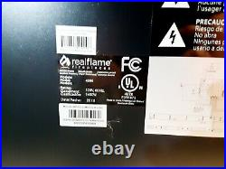 Real Flame Electric Fireplace Insert Model 4099