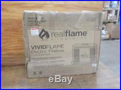 Real Flame VividFlame Electric Firebox Insert in Black