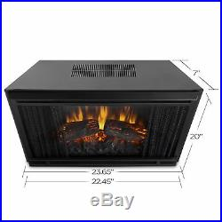 Real Flame Vivid Flame 23 in. Electric Fireplace Insert 4099 New Open Box