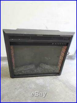 SUNLEI 28 Electric Fireplace Insert, Recessed Built in & Freestanding Used