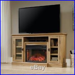 Sauder Select Curved Fireplace Insert in Black