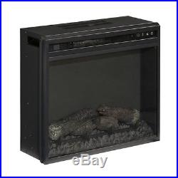 Signature Design by Ashley Furniture Fireplace Insert in Black