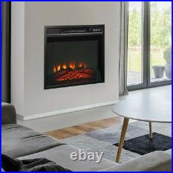Small Electric Fireplace Recessed insert Wall Mounted Standing Electric Heater