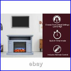 Sorrento Electric Fireplace withMulti-Color LED Insert and 47 Stand