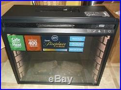 Southern Enterprises 23w Electric Firebox Insert 3d Faux Fireplace Space Heater
