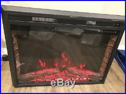 Sunlei 36 Electric Fireplace Insert Multi Color Timer Touch Screen Remote