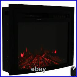 Sunnydaze Contemporary Comfort Indoor Electric Fireplace Insert -23 Inches