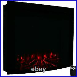 Sunnydaze Cozy Warmth Indoor Electric Fireplace Insert 30 Inches