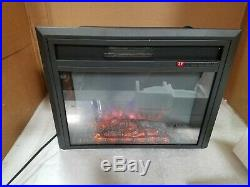 TAGI 26'' Embedded Electric Fireplace Insert Recessed Electric Stove Heater w