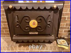 The Earth Stove Electric Fireplace Insert