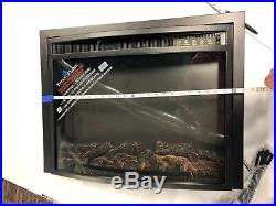 Titan Flame Model EF-30B 26 Curved Insert Electric Fireplace