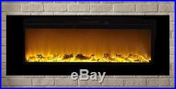 Touchstone Sideline60 80011 60 Recessed Electric Fireplace (wall insert model)