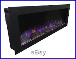 Touchstone Sideline Wall Mount Electric Fireplace Insert