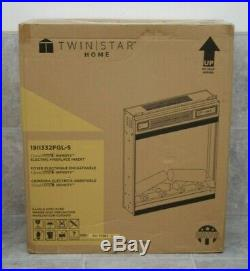 Twinistar Home 1911332FGL-S 19 ClassicFlame Infinity Electric Fireplace Insert