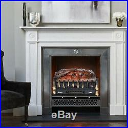 VIVOHOME 110V 750/1500W Portable Electric Fireplace Log Insert Heater with Re