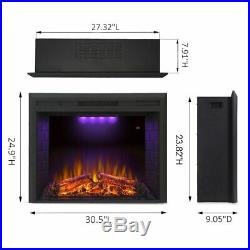 Valuxhome Houselux 30 Embedded Fireplace Electric Insert Heater NEW