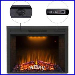 Valuxhome Houselux 36 750With1500W, Electric Fireplace Insert With Log Speaker