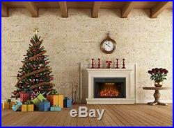 Valuxhome Houselux 36 750With1500W, Embedded Fireplace Electric Insert Heater
