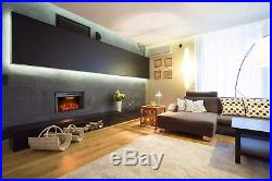 Valuxhome Houselux 36 750With1500W, Embedded Fireplace Electric Insert Heater, Fi