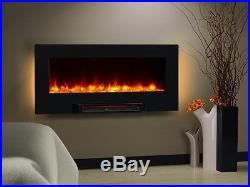 Wall Mount Electric Fireplace Heater Insert 36 Infrared Standing Remote Control
