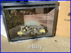 Western Electric Fireplace Insert Remote Control PuraFlame 750-1500W 33 Black