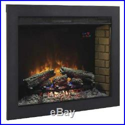 Western In-Wall Electric Fireplace Insert 33 Black