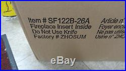 Whalen Electric Fireplace Insert with Remote Control SF122B-26A