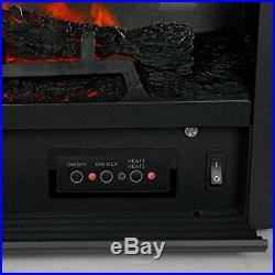 XtremepowerUS 28.5 1500W 5200BTU Embedded Electric Fireplace Insert Heater W