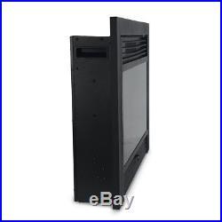 XtremepowerUS 28.5 Inch 1500W 5200BTU Embedded Electric Fireplace Insert Heater