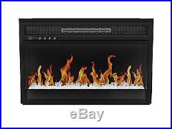 Z-Line Designs Flat Crystal Electric Fireplace Insert